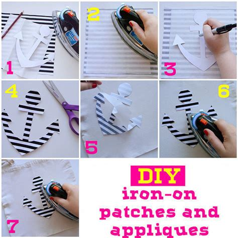 how to applique diy iron on patches and appliques 183 how to make a patches