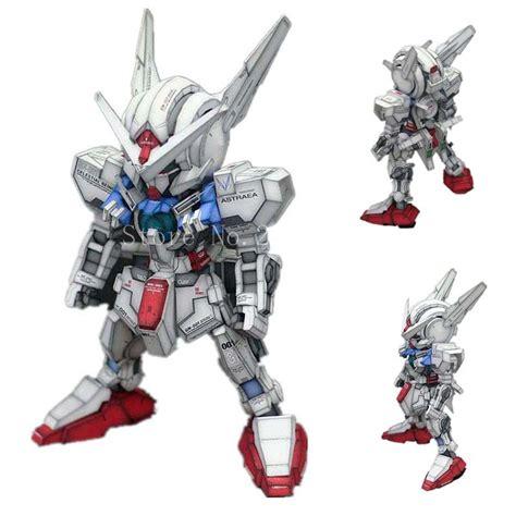 Puzzle Kertas Gundam Gao Da Model A sd gny 001 astraea gundam model kertas 3d papercraft diy