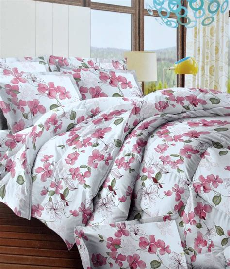 bombay dyeing bed sheets bombay dyeing floral cotton bed sheet with 2 pillow covers