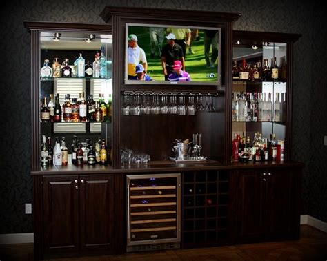 Home Bar Entertainment 17 Best Images About Bar Entertainment Center On
