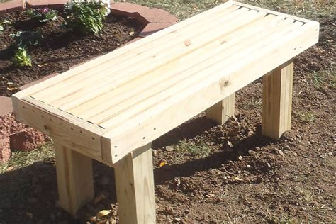 how to build a bench for a deck deck bench