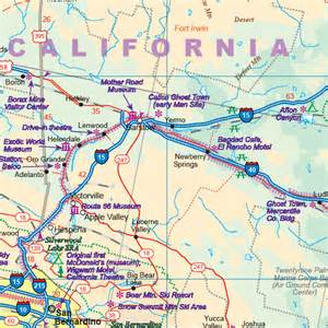 route 66 map california maps for travel city maps road maps guides globes
