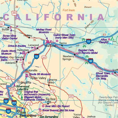 california map route 66 maps for travel city maps road maps guides globes