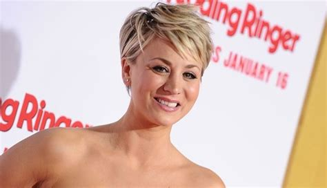kaley cuoco new short hairdo kaley cuoco hairstyles haircuts short pixie bangs updos