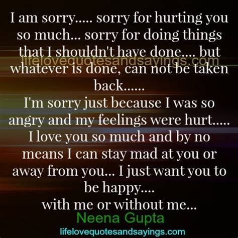 Apology Letter To Husband For Hurting Him Best 25 Sorry For Hurting You Ideas On So Hurt You Hurt Me Quotes And Sorry I Hurt You