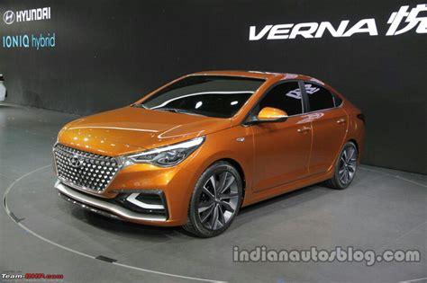 hyundai indian hyundai india re imports the next 2017 verna page 2