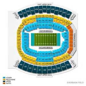 Jacksonville Jaguar Seating Chart Everbank Field Seating Chart And Tickets