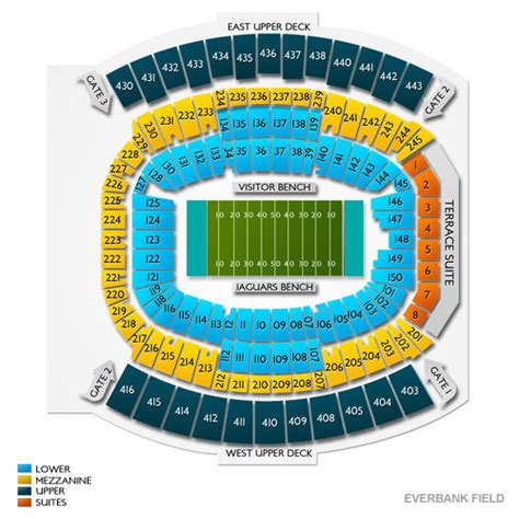 everbank field map jacksonville jaguars stadium map afputra