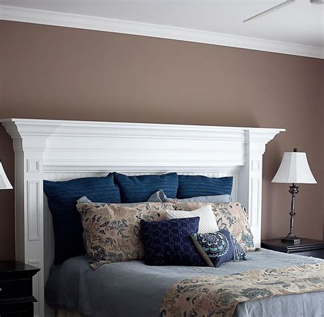 diy mantel headboard 17 best ideas about fireplace mantle headboard on