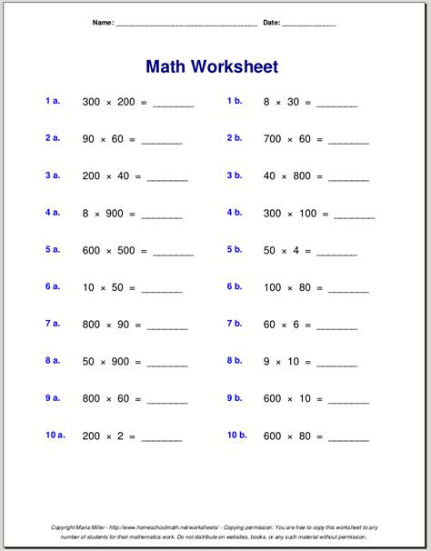 Math Facts Practice Worksheets by Multiplication Fact Practice Worksheets 1000 Ideas About
