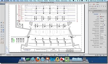stage layout design software quick tutorial plotting custom paper sizes in autocad