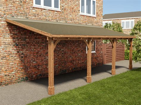 Lean To Car Port by New Product Lean To Carports Dunster House