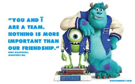 your inc friendship quotes from monsters inc quotesgram