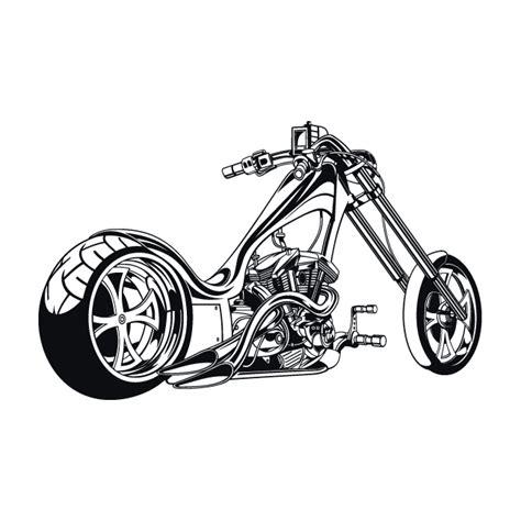 Motorrad Vinyls by Vinyl Stickers And Stickers Bike Chopper