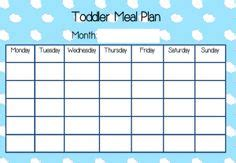 toddler meal planner template printables on birthday countdown free
