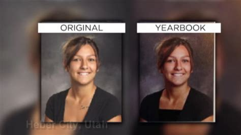 year book picture school officials defend altered yearbook photos today