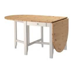 gamleby gateleg table light antique stain grey 67 134