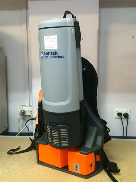 Vacuum Cleaner Battery nilfisk gd5 lithium battery powered cordless backpack vacuum cleaner the vacuum doctor
