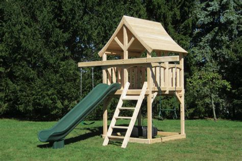 swings and slides for small gardens small space swing set idea build with sandbox that covers