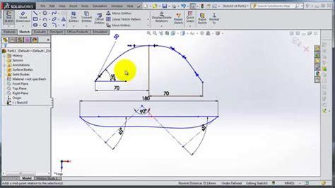 solidworks tutorial nederlands 2014 solidworks 2014 tutorial 9 spline types using and