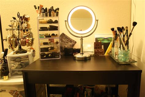 Makeup Vanity Organization Tips reviews on makeup advices my makeup vanity with organization tips