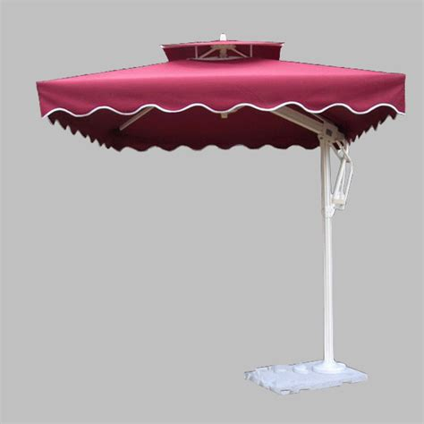 Windproof Patio Umbrella China Windproof Aluminium Umbrella Patio With 8 Ribs Ua 2525 6 China Umbrella Patio