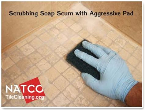how to clean and seal a travertine tile shower