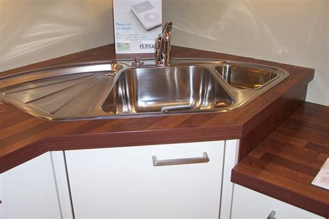 Corner Sinks For Kitchens Corner Sink Kitchen With Attractive Layout To Tweak Your