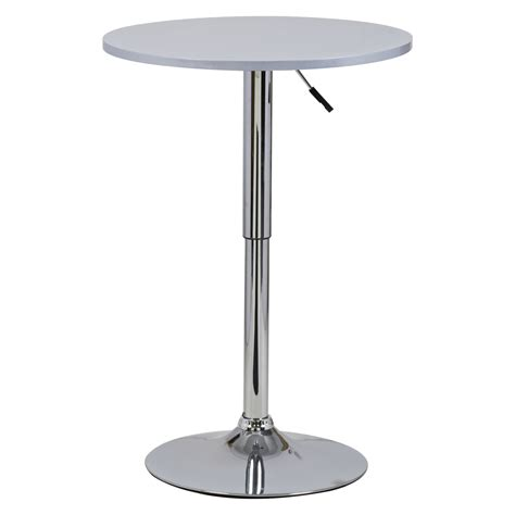 bar table bistro table mdf kitchen dining adjustable