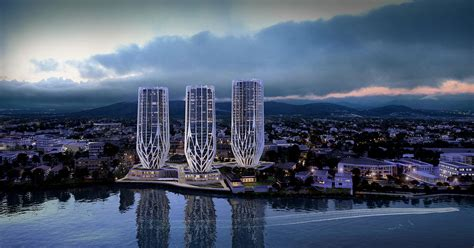 Riverfront Home Plans by Zaha Hadid Architects S Grace On Coronation In Brisbane