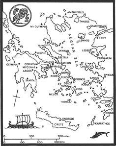 coloring page map of greece 1000 images about ancient greece on pinterest ancient