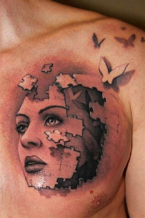 puzzle tattoo man 17 best images about cool tattoos on