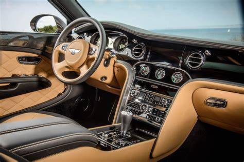 bentley inside view bentley mulsanne speed interior luxuo