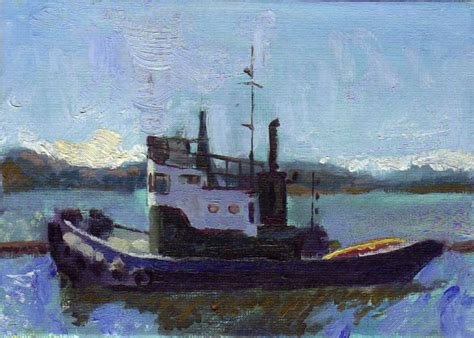tugboat painting tugboat painting posted by cmbancroft at 8 30 am no