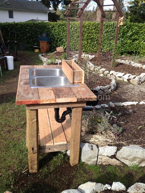 Garden Sink Ideas Garden Washing Sink Garden Sink