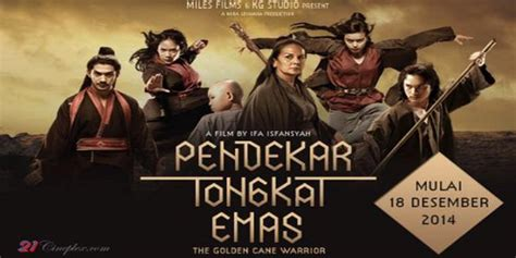Film Laga Silat | pendekar tongkat emas kembalinya film silat lokal ke