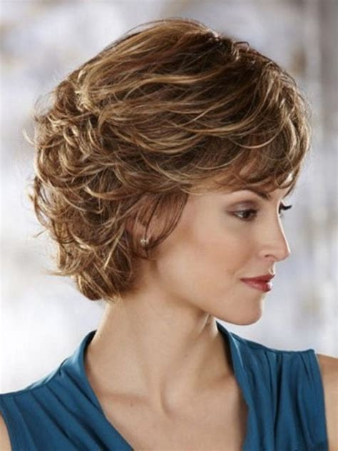 curly hair in 40th year old women pretty short hairstyles for older women above 40 and 50 2