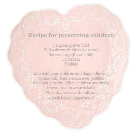 a recipe for preserving children 171 babyccino daily