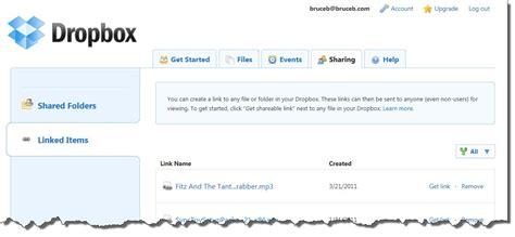 dropbox quit shared folder sharing files with dropbox bruceb news