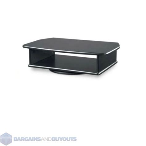 dvd player table stand tv dvd tabletop turntable swivel stand black 350417 ebay
