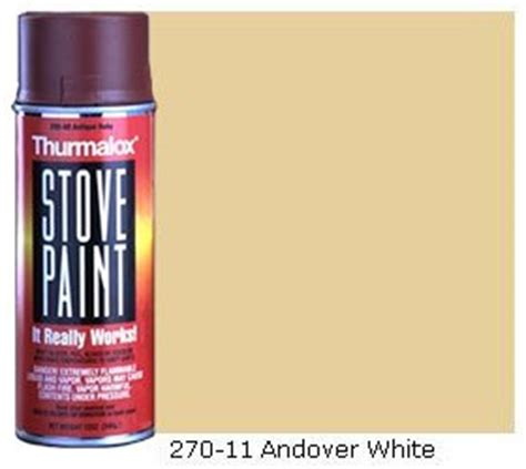 andover white stove paint 270 series colors