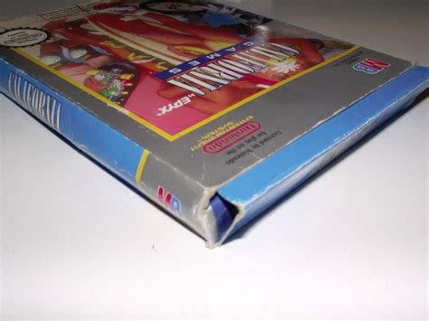 California Games Nintendo Nes Boxed Pal No Manual Ebay