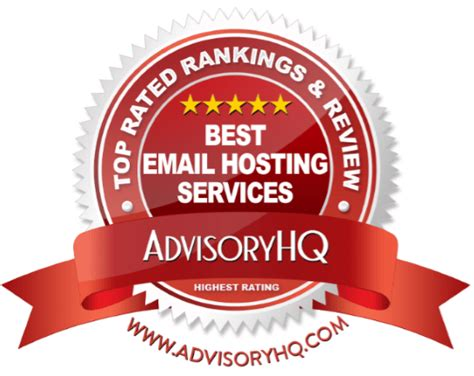 best email hosting services top 6 best email hosting services 2017 ranking most
