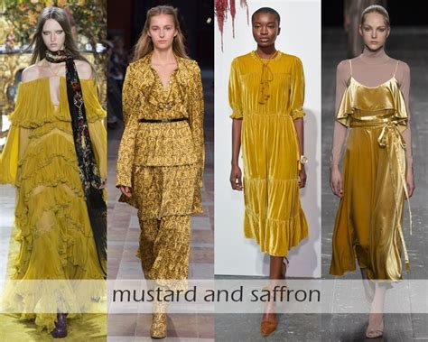 clothing colors fall winter 2016 2017 fashion trends