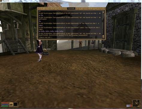 morrowind console commands exploit in skyrim joe s security