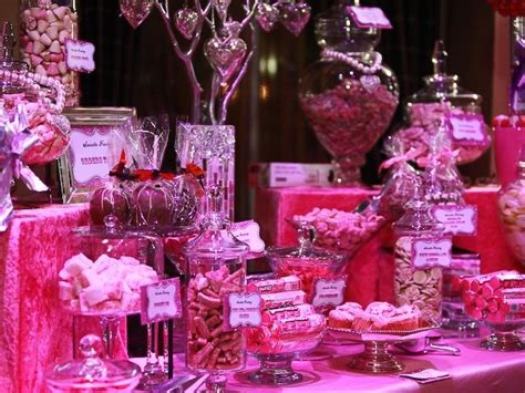 candy buffet pink and sparkly candy buffets l sweetie