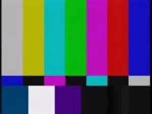 color screen television color bars