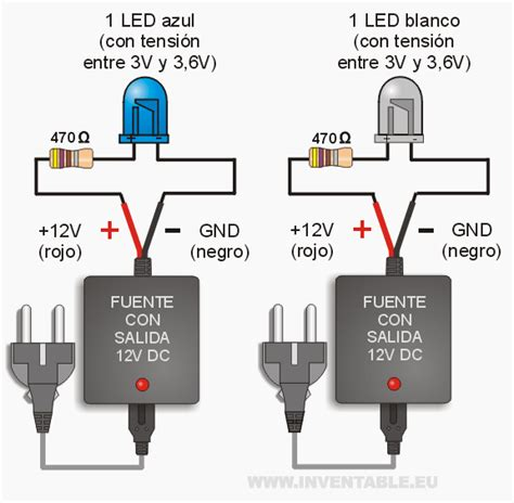 Rb 220 Resistor Ps2 8 Pin leds a 12v muy f 225 cil arduino tech and electronics projects