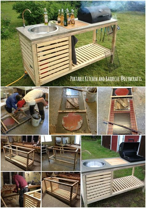 Your Own Portable Barbecue brilliant outdoor project build your own all in one