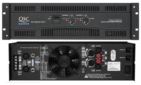 Power Lifier Qsc 4050 qsc lificateur rmx 4050hd 2 canaux 800w sous 8